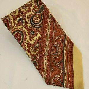 Courchevel Neck Tie Paisley Tie